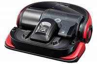 Samsung VR20J9020UR Aspirapolvere Robot POWERbot Essential, Rosso/Nero/Argento