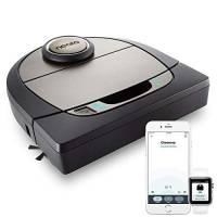 Neato Robotics D701 Connected - Compatibile con Alexa - Robot aspirapolvere con stazione di ricarica, Wi-Fi & App Android/iOS, 61 watt