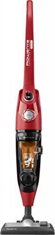 Rowenta RH8133WA Powerline Extreme Cyclonic, Scopa Elettrica con Filo e Senza Sacco, Tecnologia Ciclonica, Potenza 750 W, Capacità 0.9 L, Rosso
