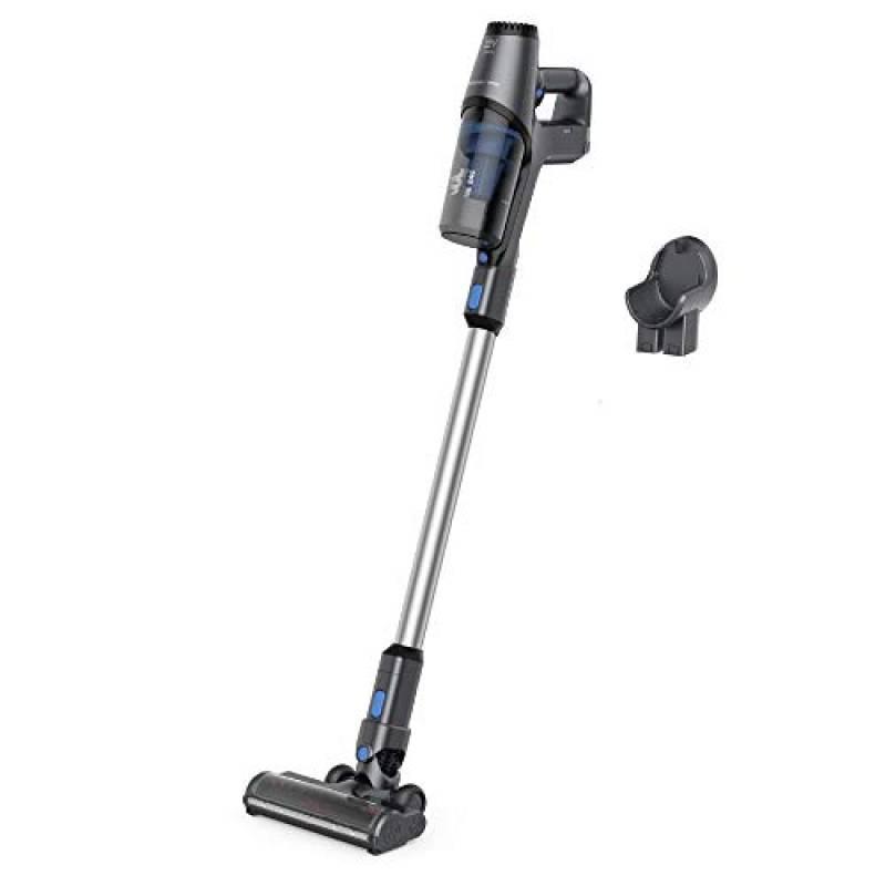 Rowenta RH6921, Cleaner X-PERT 3.60, Scopa Elettrica, 45 minuti di Autonomia, Peso di 2,2 Kg, Grigia & Blu