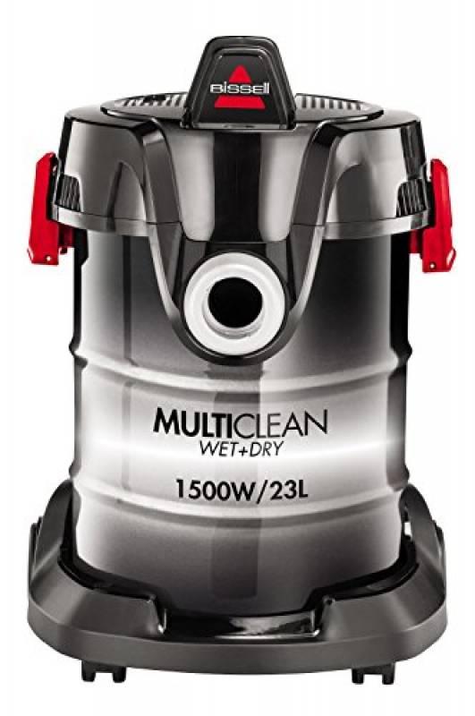 Bissell 2026M MultiClean Wet & Dry Drum - Aspirapolvere Multifunzione Umido e Secco, Funzione Compressore, 1500 W, 23 L