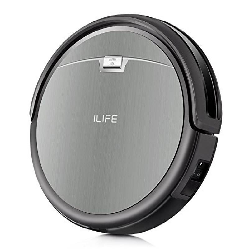 ZACO ILIFE001-IT iLife A4s Aspirapolvere Robot, con l' aspirazione Forte, Silenzioso, Adatto a Piani Diversi, 22 W, Plastica, Grey